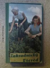 náhled knihy - Zahradnický Vševěd