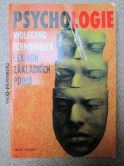 náhled knihy - Psychologie. Lexikon základních pojmů