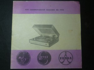 náhled knihy - Hifi gramofonové chassis NC 440