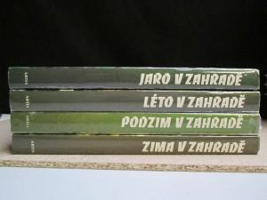 náhled knihy - Jaro, Léto, Podzim a Zima v zahradě. Soubor 4 knih