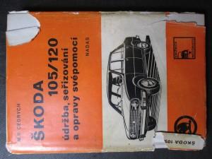 náhled knihy - Škoda 105/120 údržba, seřizování a opravy svépomocí