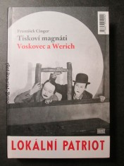 náhled knihy - Tiskoví magnáti Voskovec a Werich : (Vest pocket revue) - (Lokální patriot)