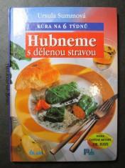 náhled knihy - Hubneme s dělenou stravou : kúra na 6 týdnů