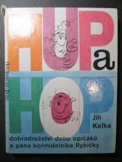 náhled knihy - Hup a Hop. Dobrodružství dvou opičáků a pana kormidelníka Rybičky