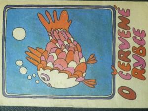 náhled knihy - O červené rybce