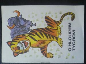 náhled knihy - O hloupém tygrovi