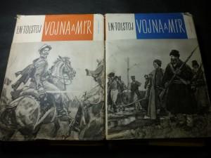 náhled knihy - vojna a mír I., II.