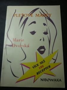 náhled knihy - pleťové masky