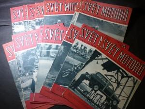 náhled knihy - svět motorů ročník 1963