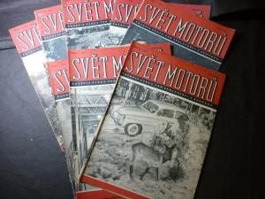 náhled knihy - svět motorů ročník 1962