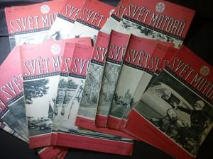 náhled knihy - svět motorů ročník 1961