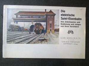 náhled knihy - Die elektrische Spiel-Eisenbahn ihre Arbeitsweise und Bedienung und einiges von ihren Vorbildern