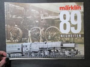 náhled knihy - Märklin 89 Neuheiten