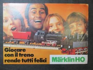 náhled knihy - Märklin HO Giocare con il treno rende tutti felici 1973 I