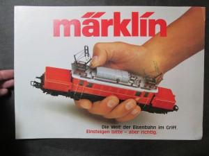 náhled knihy - Märklin. Die Welt der Eisenbahn im Griff. Einsteigen bitte - aber richtig.