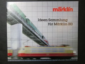 náhled knihy - Märklin. Ideen-Sammlung für Märklin H0. 1983 D