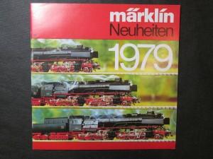 náhled knihy - Märklin Neuheiten 1979