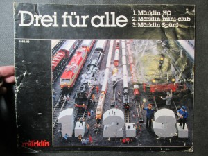náhled knihy - Märklin . Drei für alle