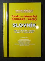 náhled knihy - Česko-německý, německo-český slovník pro studium a praxi doma i v zahraničí s dodatky