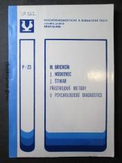 náhled knihy - Přístrojové metody v psychologické diagnostice