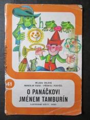 náhled knihy - O panáčkovi jménem Tamburín