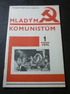 náhled knihy - mladým komunistům č. 1, 1974
