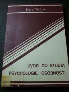 náhled knihy - Úvod do studia psychologie osobnosti