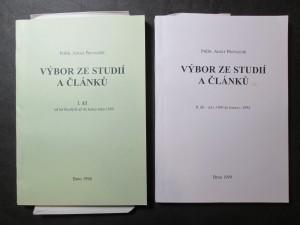 náhled knihy - Výbor ze studií a článků I. a II. díl