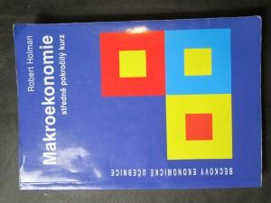 náhled knihy - Makroekonomie : středně pokročilý kurz