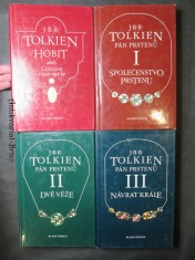 náhled knihy - Hobit a Pán prstenů I., II., a III. díl