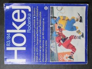 náhled knihy - Hokej Ročenka 83/84