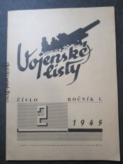náhled knihy - Vojenské listy číslo 2 ročník I. 1945