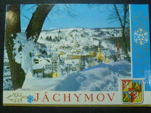 náhled knihy - Jáchymov - zimní pohled