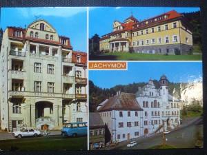 náhled knihy - Jáchymov - lázeňské město na úpatí Krušných hor