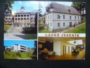 náhled knihy - Lázně Jeseník - Sanatorium Priessnitz, Rodný dům V. Priessnitze, Balneologický ústav a ubytovna Mír, Čekárna Balneologického ústavu