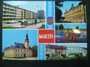 náhled knihy - Kojetín - Nová výstavba, Škola, Koupaliště, Radnice, Gottwaldovo náměstí
