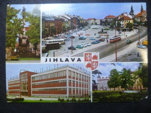 náhled knihy - Jihlava - Morový sloup, Náměstí Míru, Sportovní hala, Náměstí Rudé armády