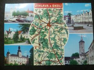 náhled knihy - Jihlava - nám. Míru, Telč, Polná, Třešť - zámek, Hrad Roštejn