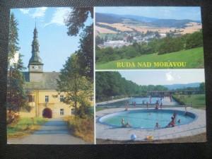 náhled knihy - Ruda nad Moravou - renesanční zámek z r. 1610, střed obce, koupaliště
