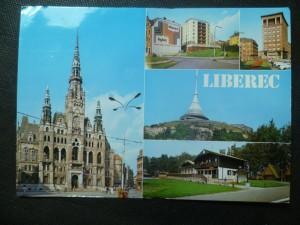 náhled knihy - Liberec - okresní město v údolí Lužické Nisy