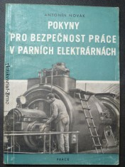 náhled knihy - Pokyny  pro bezpečnost práce v parních elektrárnách
