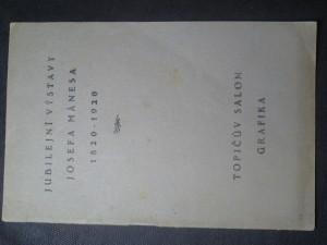 náhled knihy - Jubilejní výstava Josefa Mánesa 1820-1920