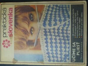 náhled knihy - Praktická slovenka 69 - Učíme sa pliesť - škola pletenia