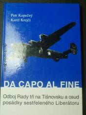 náhled knihy - Da capo al fine. Odboj Rady tří na Tišnovsku a osud posádky sestřeleného Liberátoru