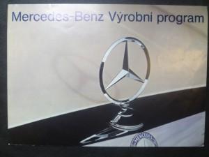 náhled knihy - Mercedes-Benz. Výrobní program