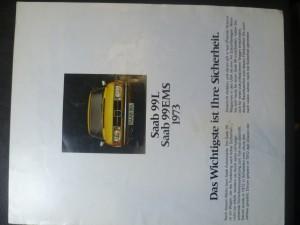 náhled knihy - Saab 99L, Saab 99EMS 1973