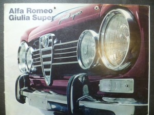 náhled knihy - Alfa Romeo Giulia Super