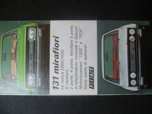 náhled knihy - 131 mirafiori. Fiat