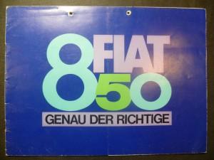 náhled knihy - 850 Fiat. Genau der Richtige
