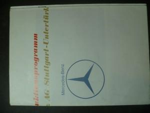 náhled knihy - Produktionsprogramm der Daimler-Benz AG Stuttgart-Untertürkheim